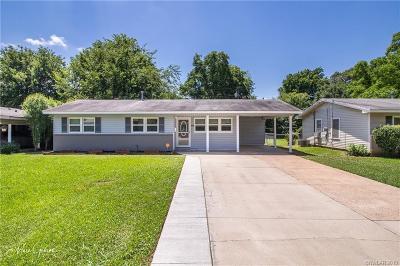 Bossier City LA Single Family Home For Sale: $114,900