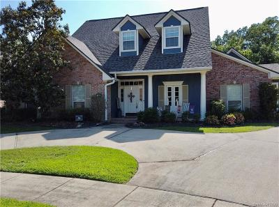 Bossier City Single Family Home For Sale: 40 Waterbury Drive