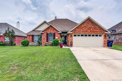 Benton Single Family Home For Sale: 4113 Courtland Way