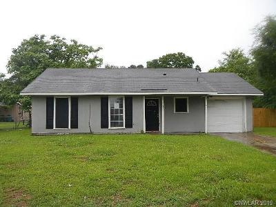 Keithville Single Family Home For Sale: 10356 McElroy Drive