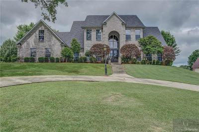 Haughton Single Family Home For Sale: 6 Charleston Drive