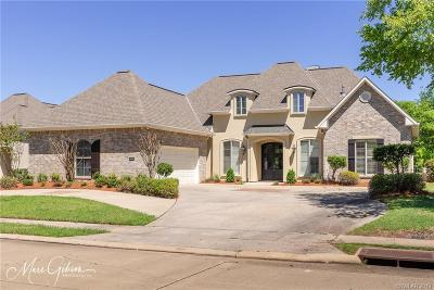 Bossier City Single Family Home For Sale: 60 Turnbury Drive