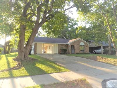 Bossier City Single Family Home For Sale: 2512 Belle Grove Drive