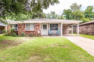 Bossier City LA Single Family Home For Sale: $144,500