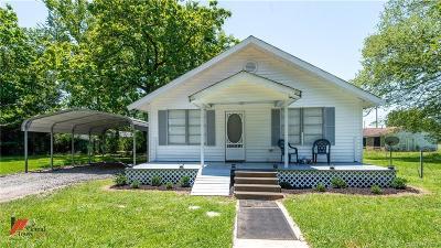 Cotton Valley LA Single Family Home For Sale: $65,000