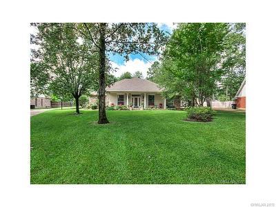 Benton Single Family Home For Sale: 4943 Old Oak Drive