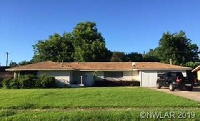 Bossier City LA Single Family Home For Sale: $146,000
