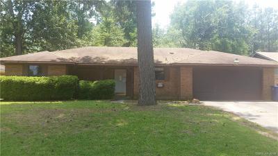 Shreveport LA Single Family Home For Sale: $85,000