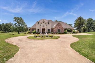 Benton Single Family Home For Sale: 1590 Parks Road