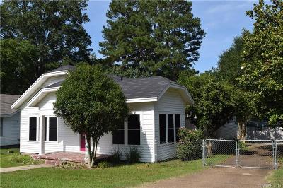 Minden LA Single Family Home For Sale: $159,900