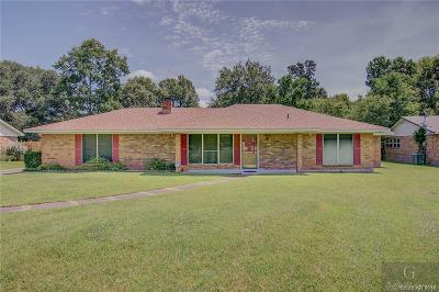 Benton Single Family Home For Sale: 4509 Parkridge Drive
