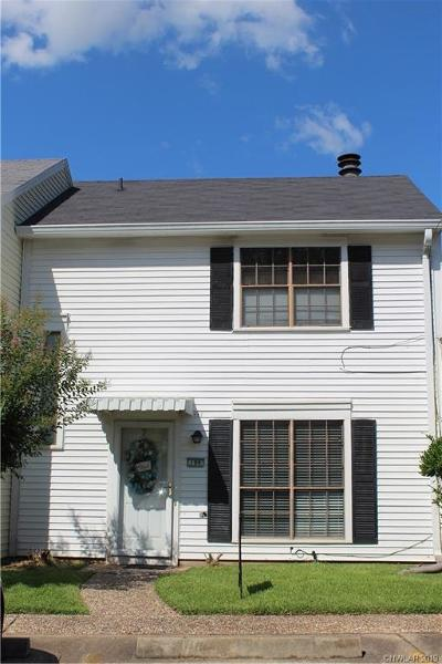 Shreveport Condo/Townhouse For Sale: 199 Chimney Stone Way