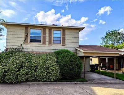 Bossier City Condo/Townhouse For Sale: 103 Carriage Square Drive