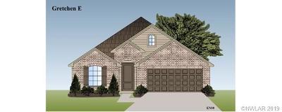 Bossier City Single Family Home For Sale: 186 Cullom Drive