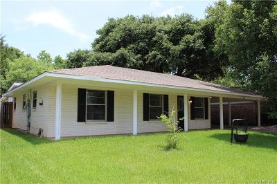 Bossier City Single Family Home For Sale: 1804 Neptune Circle