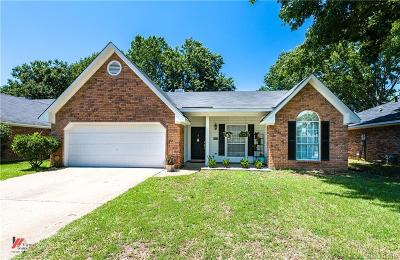 Bossier City Single Family Home For Sale: 5917 Stockwood Street