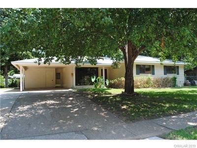 Bossier City LA Single Family Home For Sale: $125,000