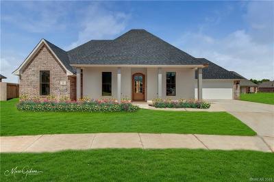 Benton Single Family Home For Sale: 609 Stowe Circle