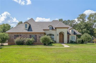 Bossier City Single Family Home For Sale: 2499 Caplis Sligo Road