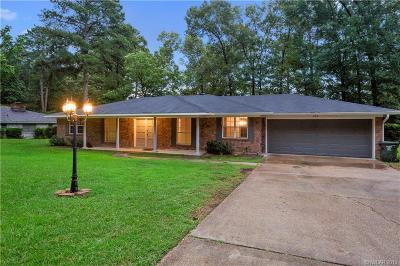 Haughton Single Family Home For Sale: 209 Pine Lake Drive