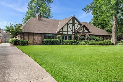 Bossier City Single Family Home For Sale: 2214 Surrey Lane