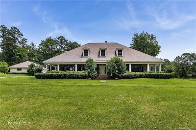 Minden Single Family Home For Sale: 626 Holly Springs Road
