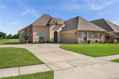 Benton Single Family Home For Sale: 201 Roanoke Circle