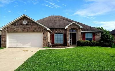 Bossier City Single Family Home For Sale: 2118 Sweet Bay Circle