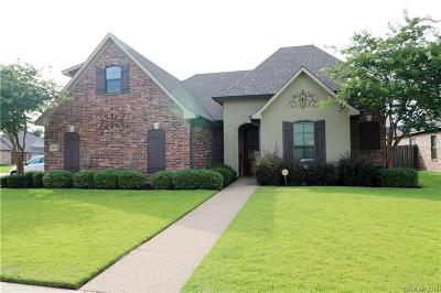 Bossier City Single Family Home For Sale: 5301 Barberry Lane