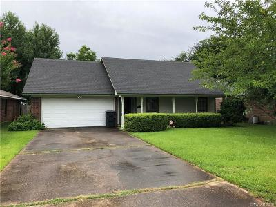Bossier City Single Family Home For Sale: 2528 Downs Circle