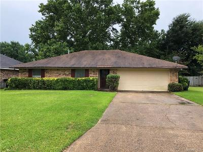 Bossier City Single Family Home For Sale: 2502 Downs Street