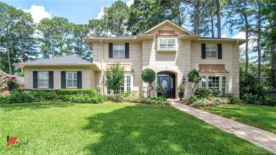 Caddo Parish Single Family Home For Sale: 527 Loch Ridge Drive