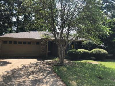Haughton Single Family Home For Sale: 8716 Hollow Bluff Drive