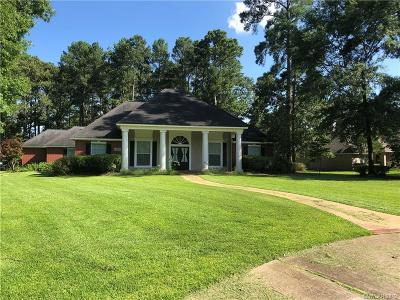 Benton Single Family Home For Sale: 4909 Old Oak Drive