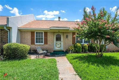 Bossier City Condo/Townhouse For Sale: 5005 Longstreet Place #58