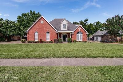 Bossier City Single Family Home For Sale: 5012 Sunflower Boulevard