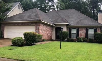 Shreveport Single Family Home For Sale: 10513 Plum Creek Drive