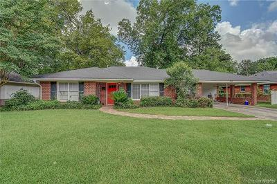 Shreveport Single Family Home For Sale: 3628 Madison Park Boulevard