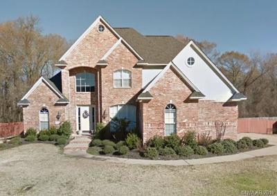 Bossier City Single Family Home For Sale: 515 Lovers Landing