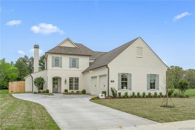 Shreveport Single Family Home For Sale: 2012 Garrett Farms Row #Lot 2