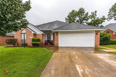 Shreveport Single Family Home For Sale: 3627 Tropicana Drive