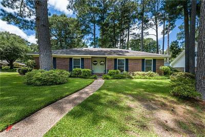 Shreveport Single Family Home For Sale: 9250 Midvale Drive