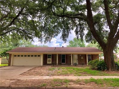 Shreveport Single Family Home For Sale: 8671 Grover Place