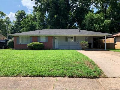 Shreveport Single Family Home For Sale: 827 Martha Lane