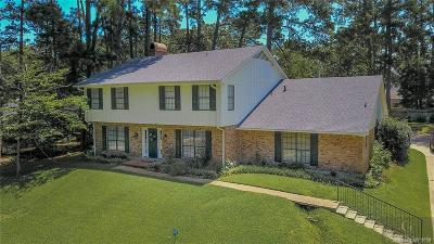 Caddo Parish Single Family Home For Sale: 8711 E Wilderness