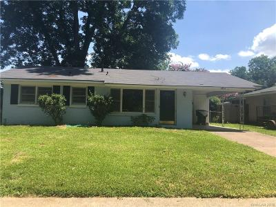 Bossier City Single Family Home For Sale: 1824 Alison Avenue