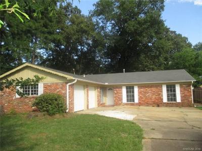 Shreveport Single Family Home For Sale: 5633 Cross Timbers Drive