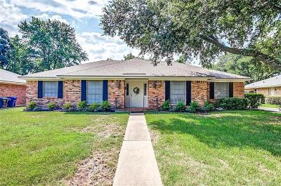 University Terrace, University Terrace South Single Family Home For Sale: 1520 Carmel Drive