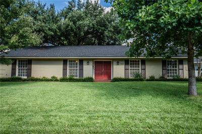Shreveport Single Family Home For Sale: 6129 River Road