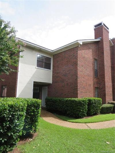 Bossier City Condo/Townhouse For Sale: 57 Meadow Creek Drive